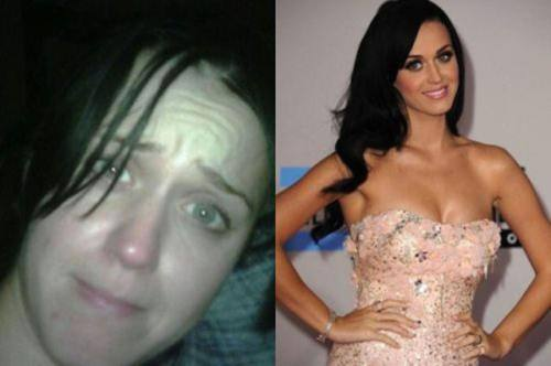 Katie Perry No Makeup