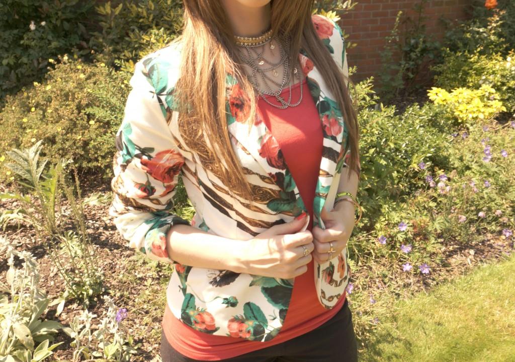 OOTD Summer Floral Blazer!