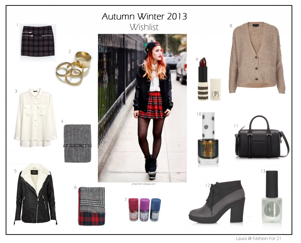 My Ultimate Wishlist for Autumn/Winter 2013