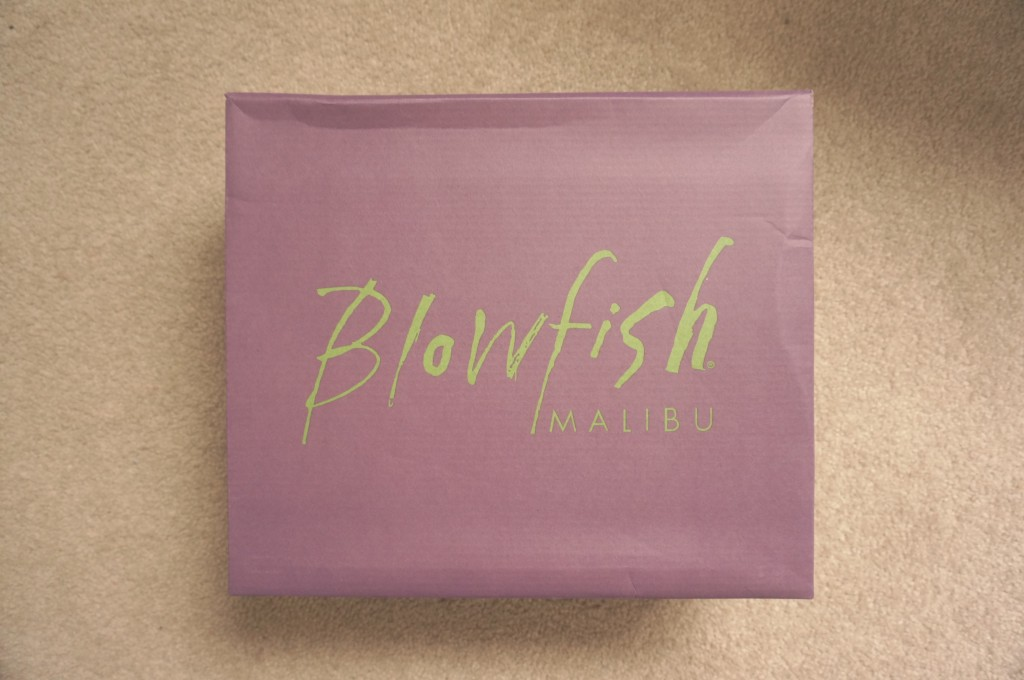 blowfish shoe box