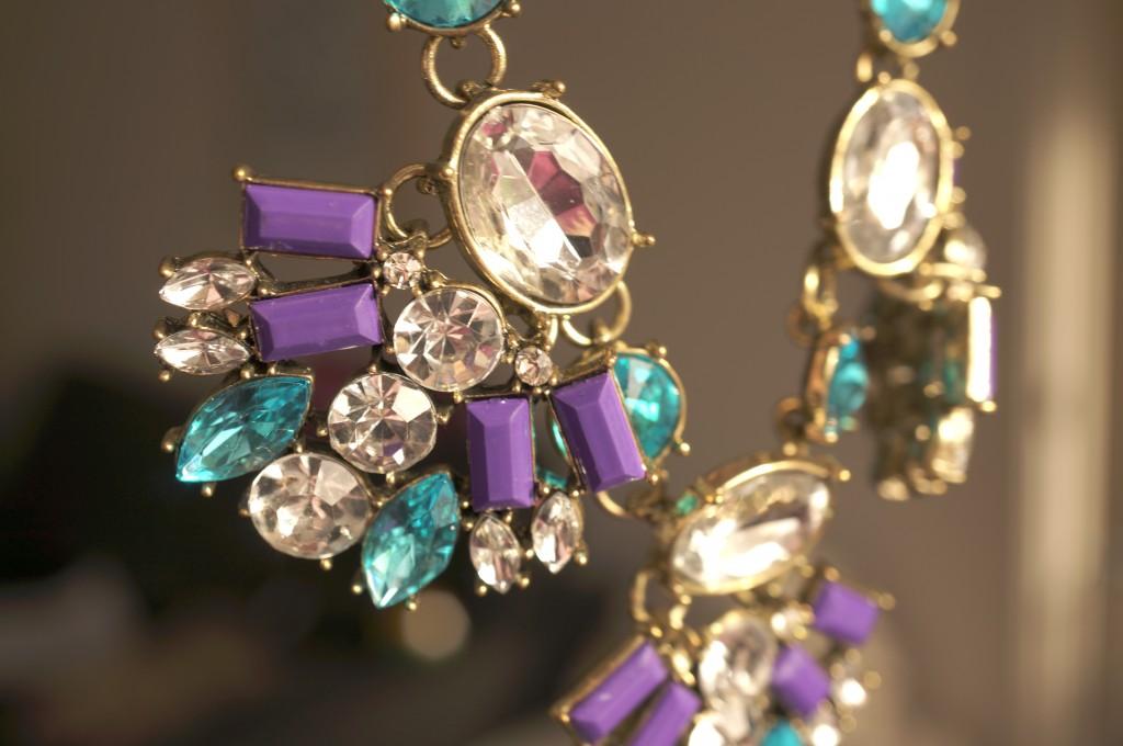 The Jewel Addict Blue Moon Statement Necklace