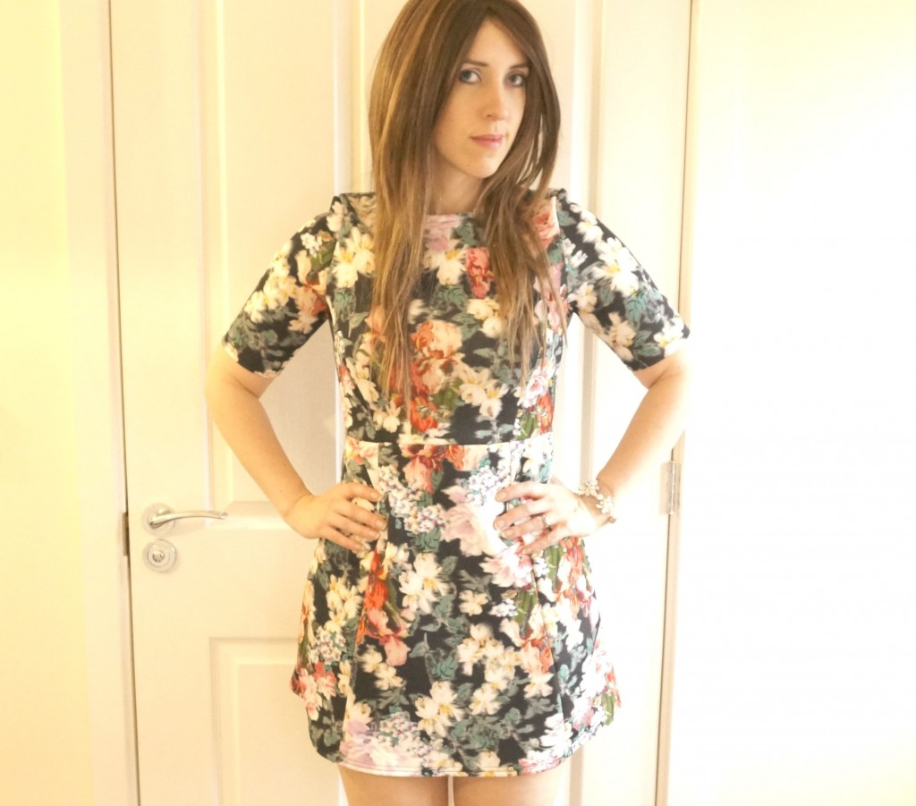 warehouse dress review ootd