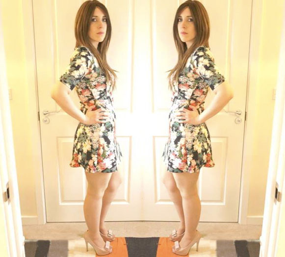 Neoprene Warehouse Premium Floral Dress OOTD!