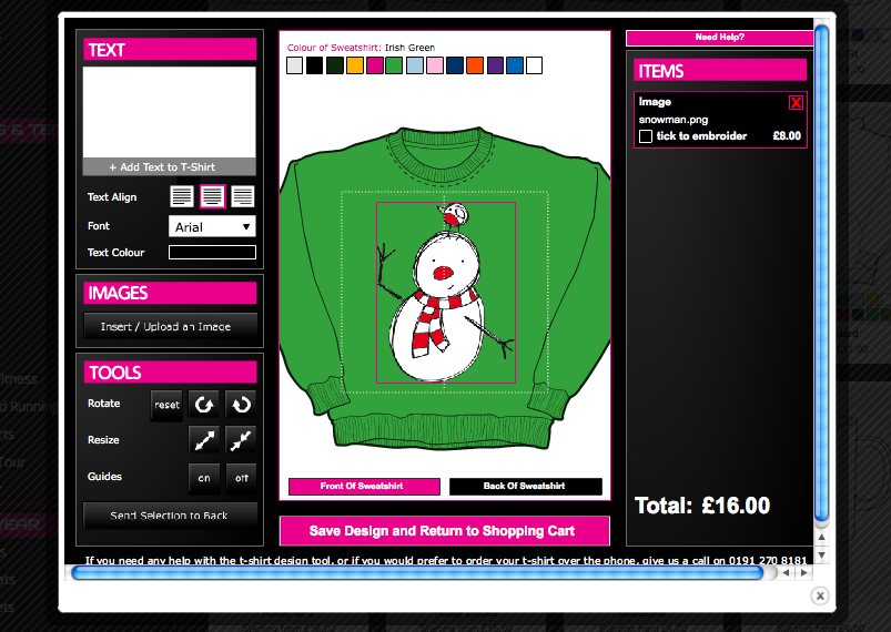 Make Your Own Christmas Jumper!