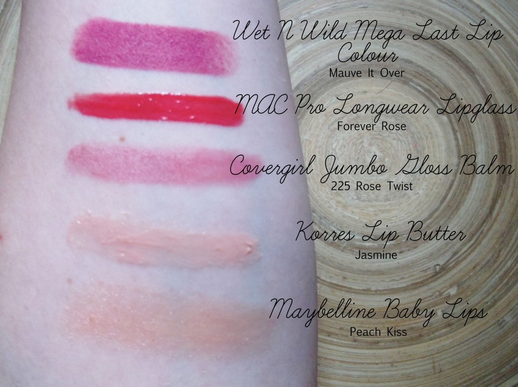Top_5_Favourite_Lip_Product_swatches