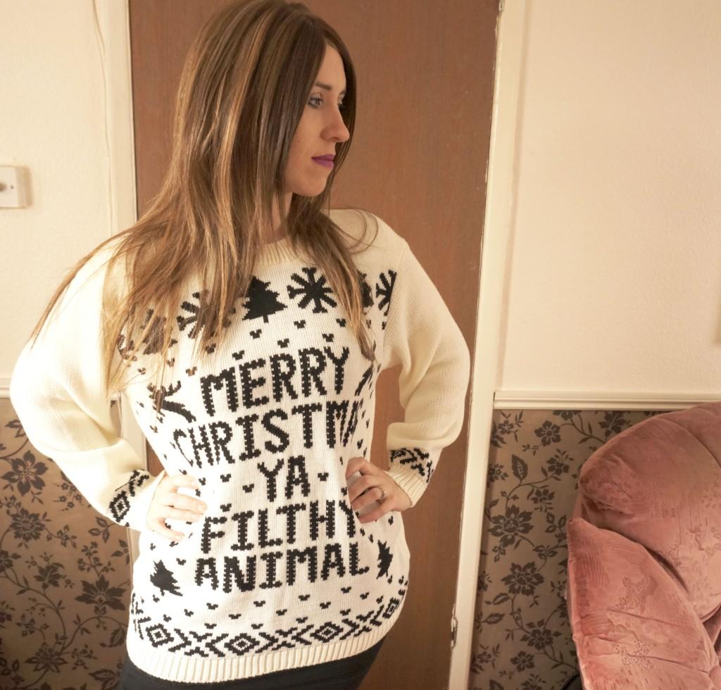 merry christmas jumper