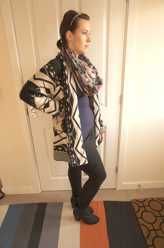 aztec scarf asos