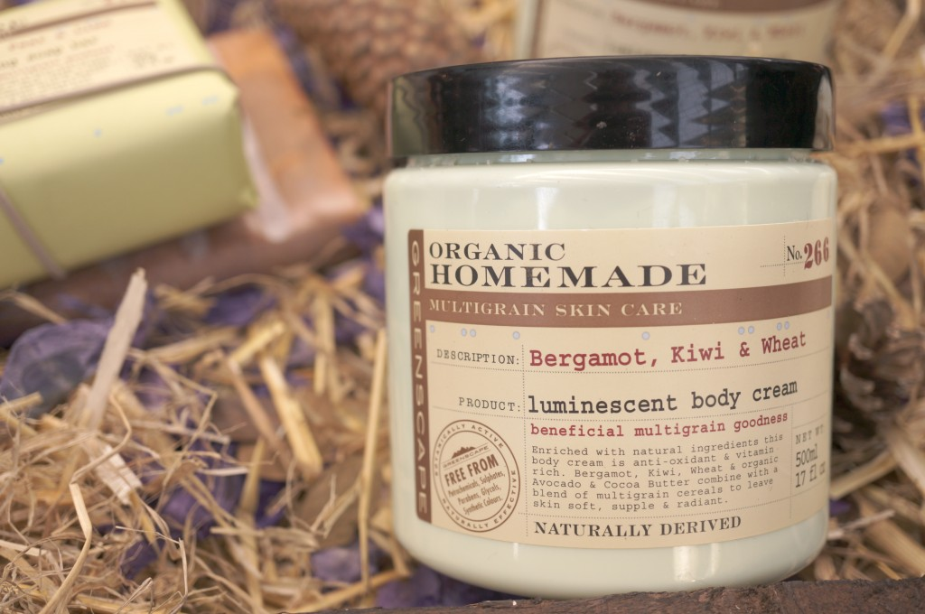 greenscape luminescent body cream