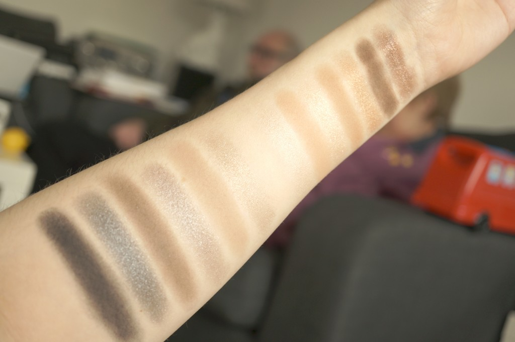 smasbox full exposure swatches