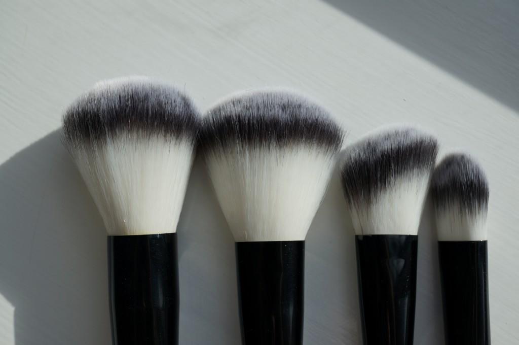 makeup brushes detail