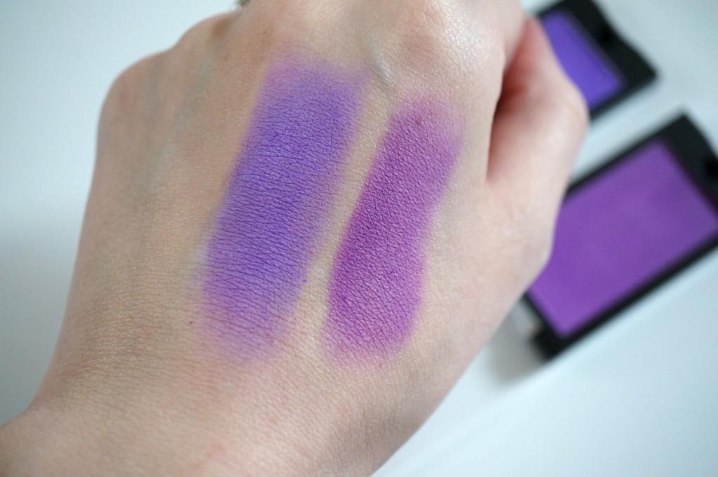 makeup revolution eyeshadow swatches