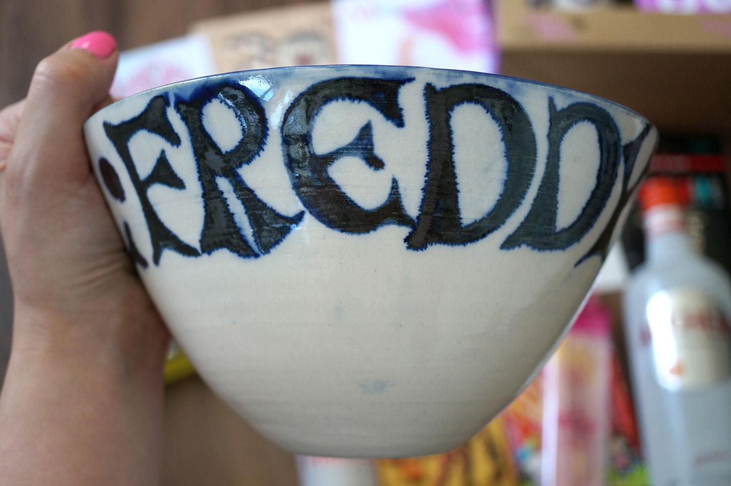 hand made bowl