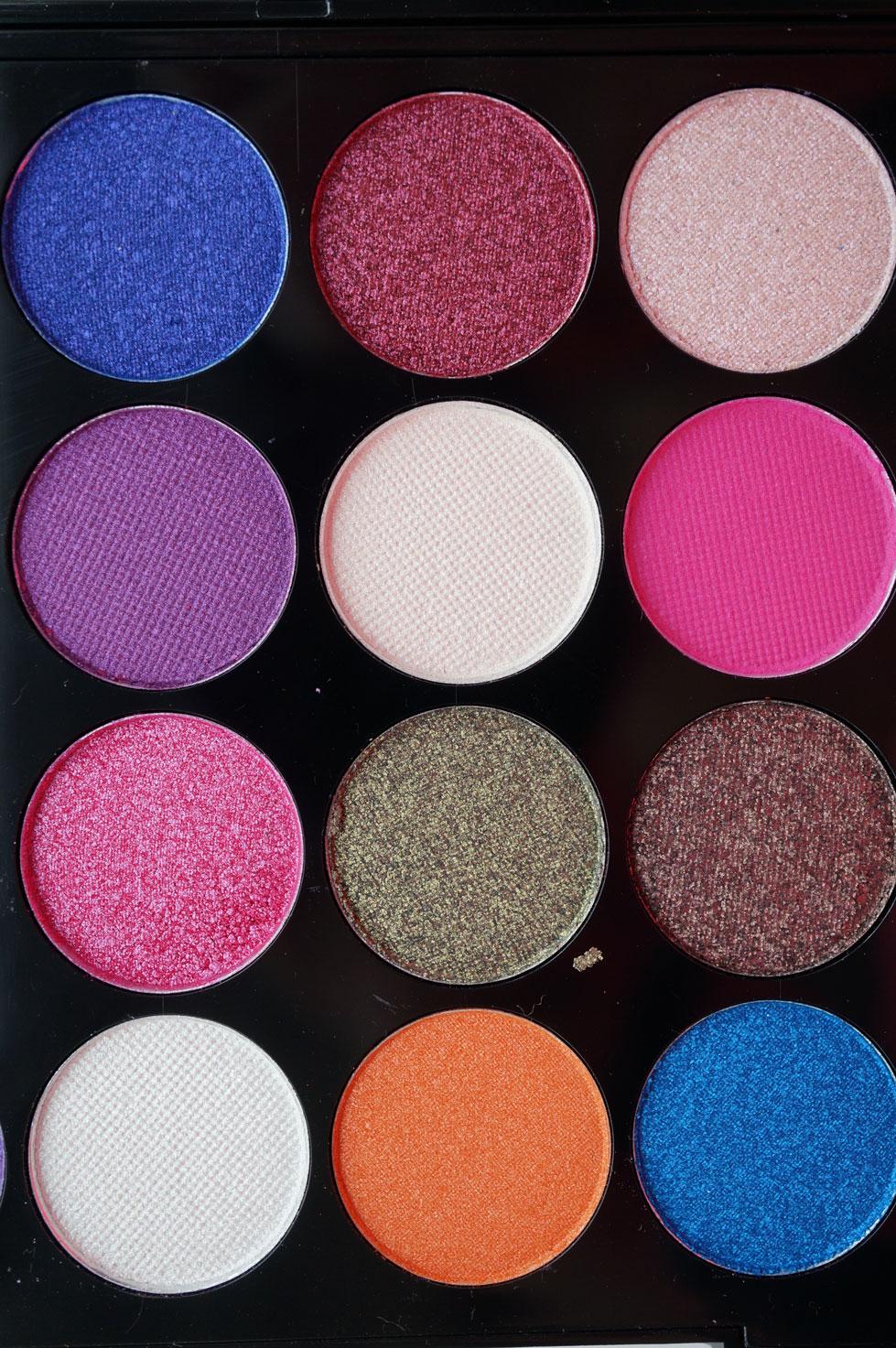Makeup Palettes: NEW Makeup Revolution Ultra Eyes Like Angels Eyeshadow