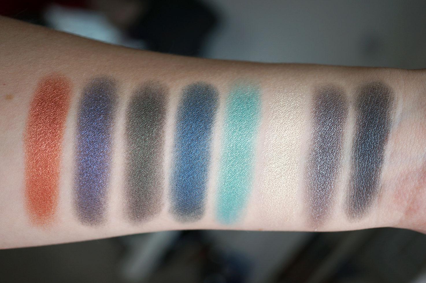 Makeup eyes purple