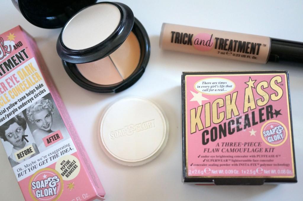 Soap & Glory Dark Circle Concealer vs Kick Ass Concealer | Review & Comparison