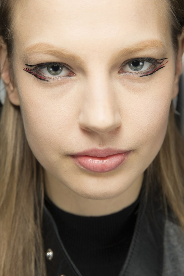 anthony vaccarello graphic eyes