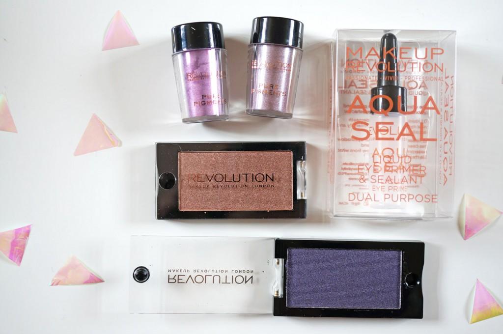 Makeup Revolution Eye Primer & Eye Dust!