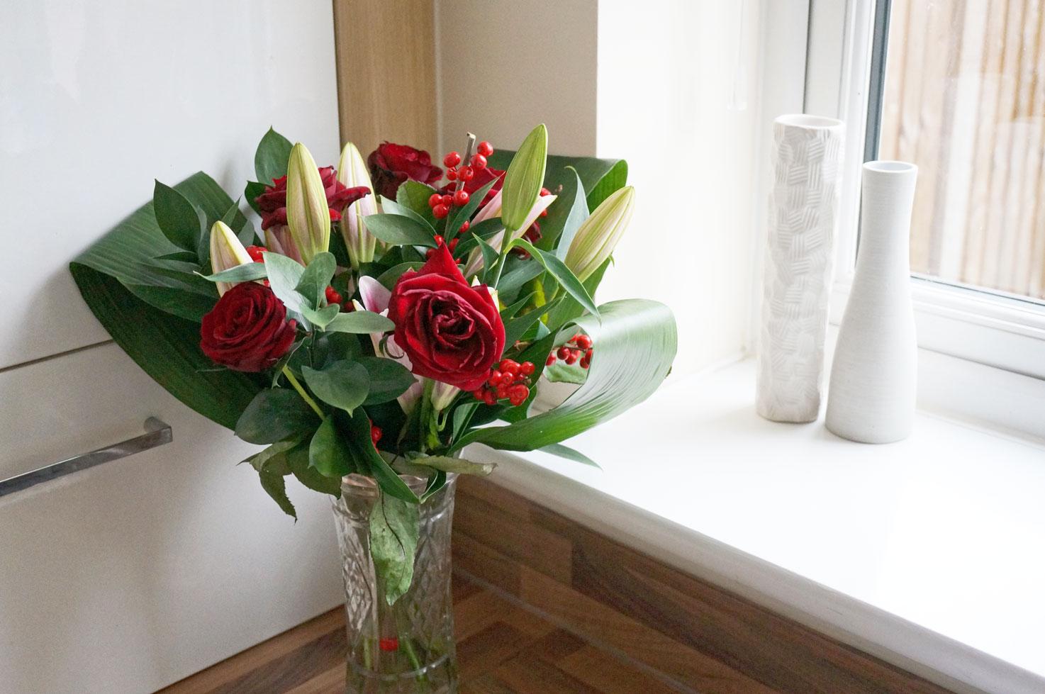 Debenhams Christmas Floral Bouquet & Offer! - Thou Shalt Not Covet...