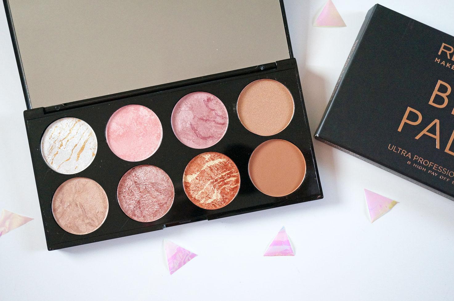 new makeup revolution blush amp contour palette in golden