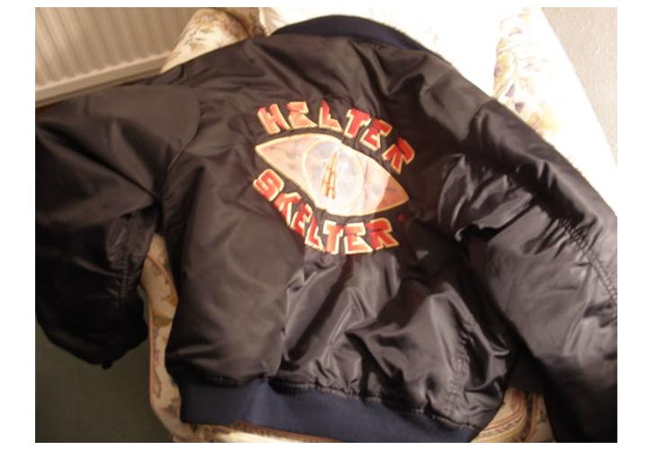 helter skelter bomber jacket