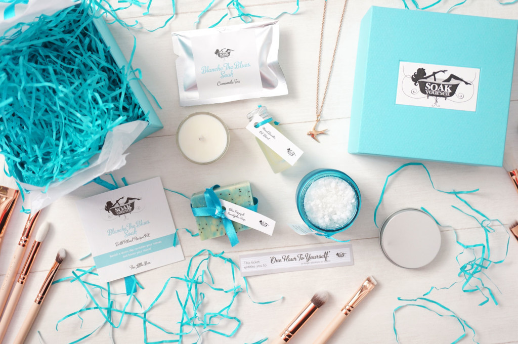 Soak Yourself Blanche The Blues Ritual Recipe Kit