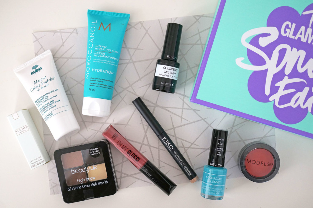 the-glamour-spring-edit-box-review