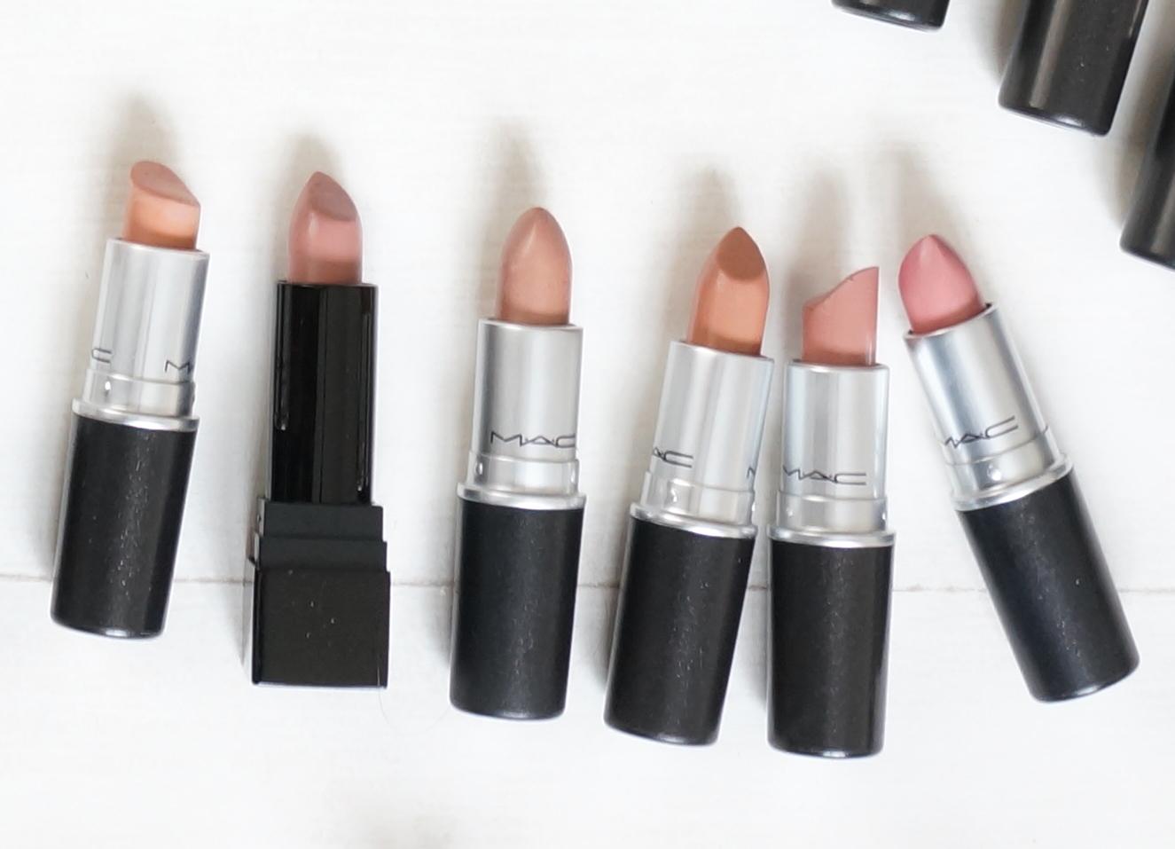 My MAC Lipstick Collection & A Guide to MAC Lipstick ...