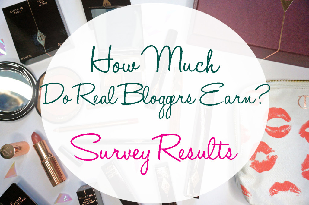 How Much Do REAL Bloggers Earn? My Survey Results