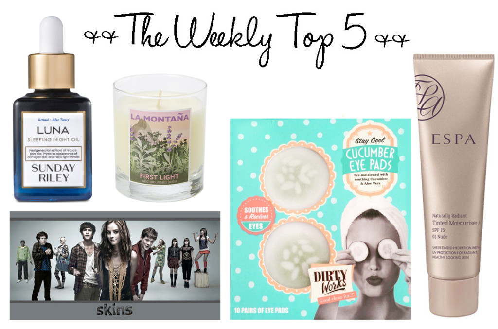the weekly top 5 no 5