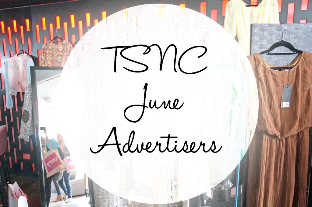 TSNC June Advertisers