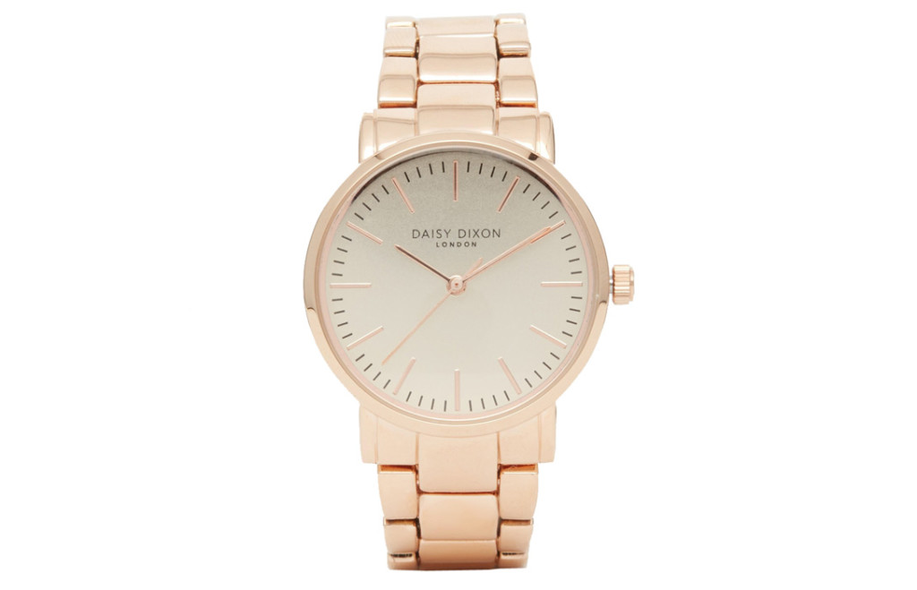 Daisy Dixon Rose Gold Kate Watch