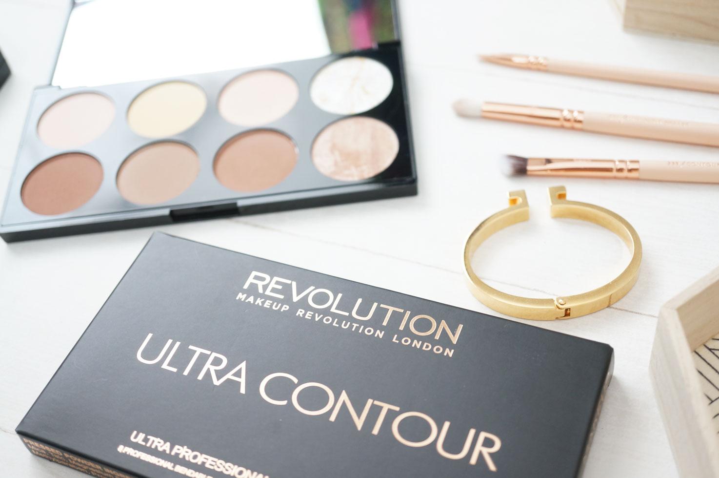 ... makeup revolution ultra professional contour palette ...