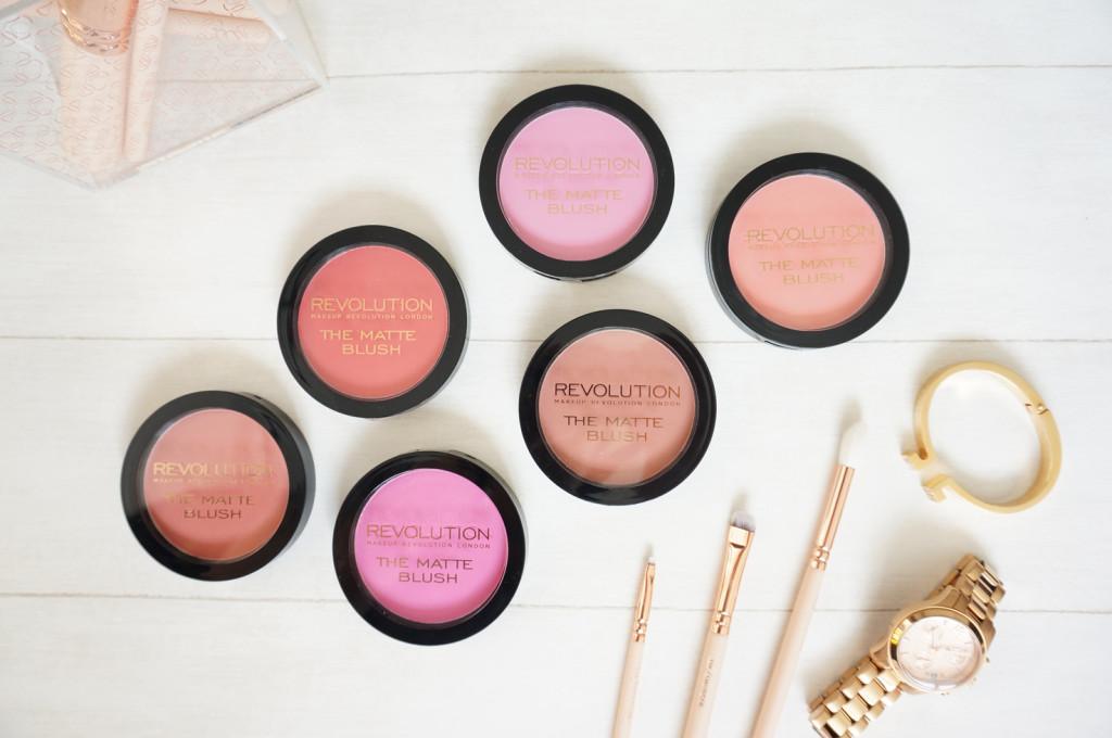 makeup-revolution-matte-blushers