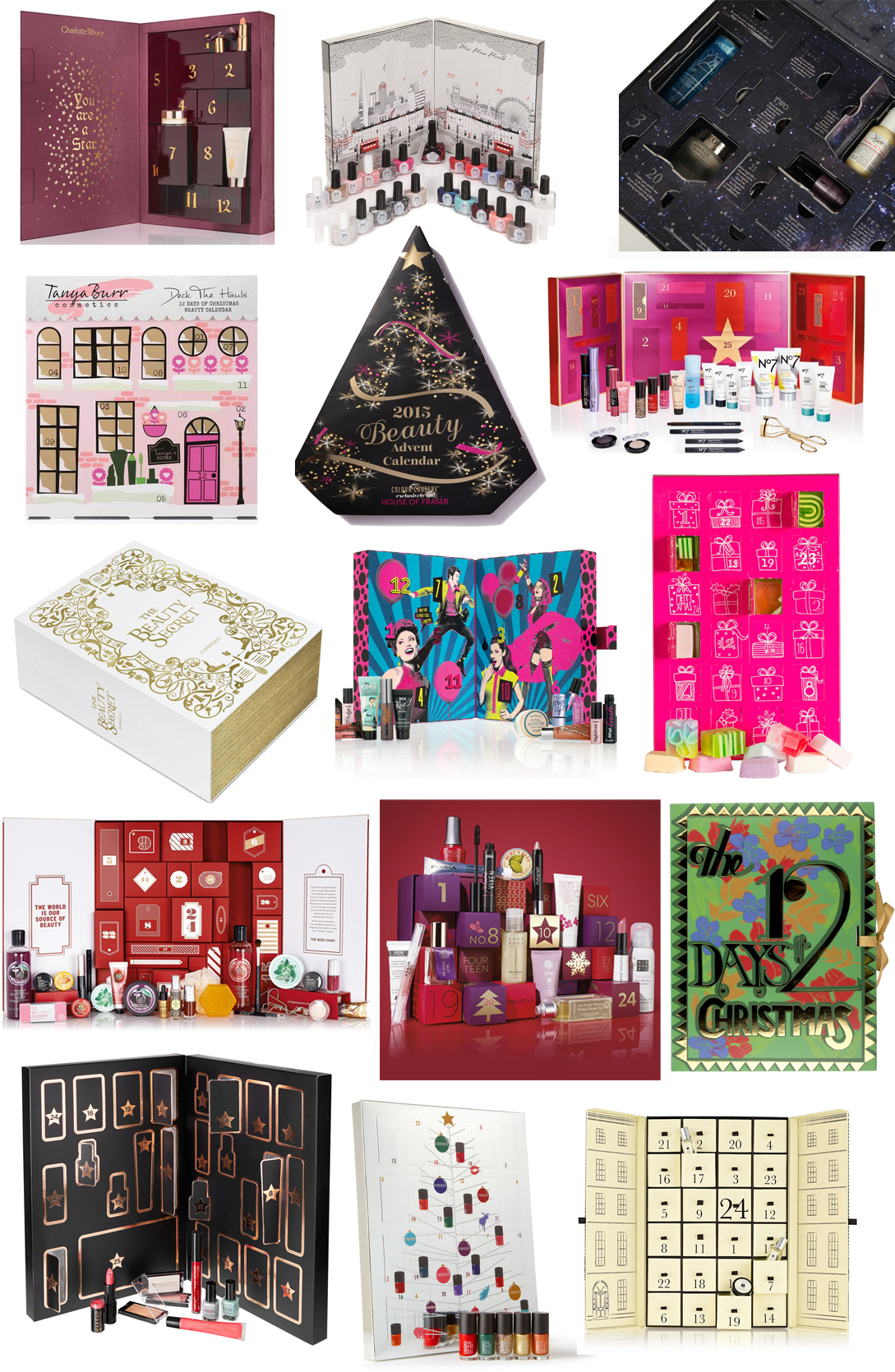 Christmas Calendar 2015 : Every single beauty advent calendar for christmas