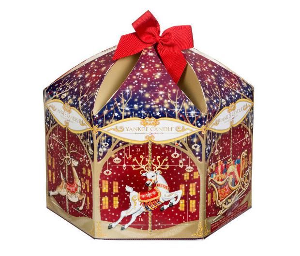 yankee candle Reindeer Carousel Advent Calendar
