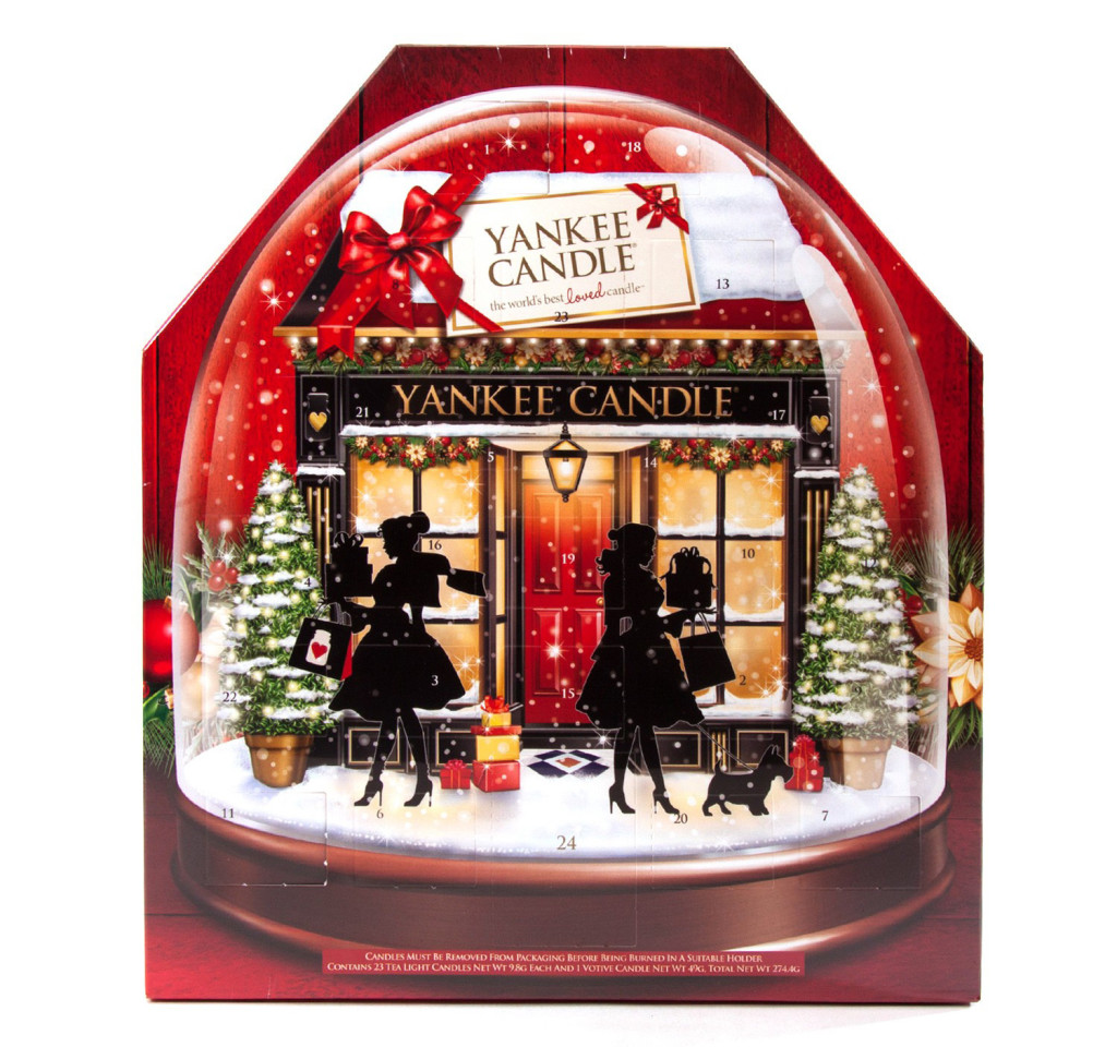 yankee candle advent calendar