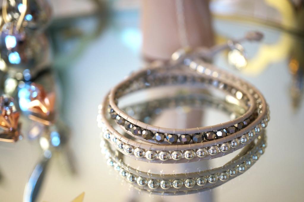 Glittering-Double-Wrap-Bracelet
