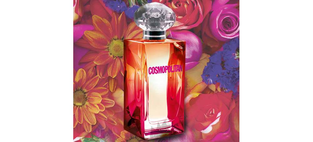 cosmo floral ad