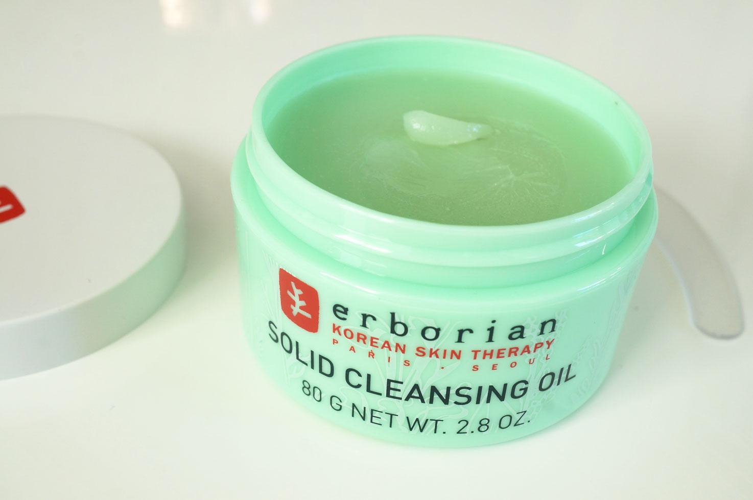 """Résultat de recherche d'images pour """"cleansing oil erborian"""""""