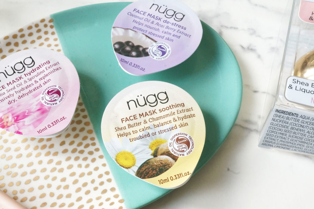 New Nugg Beauty Face & Lip Masks