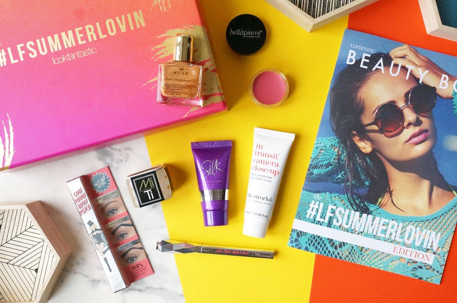 LookFantastic July 2016 #LFSummerLovin Beauty Box