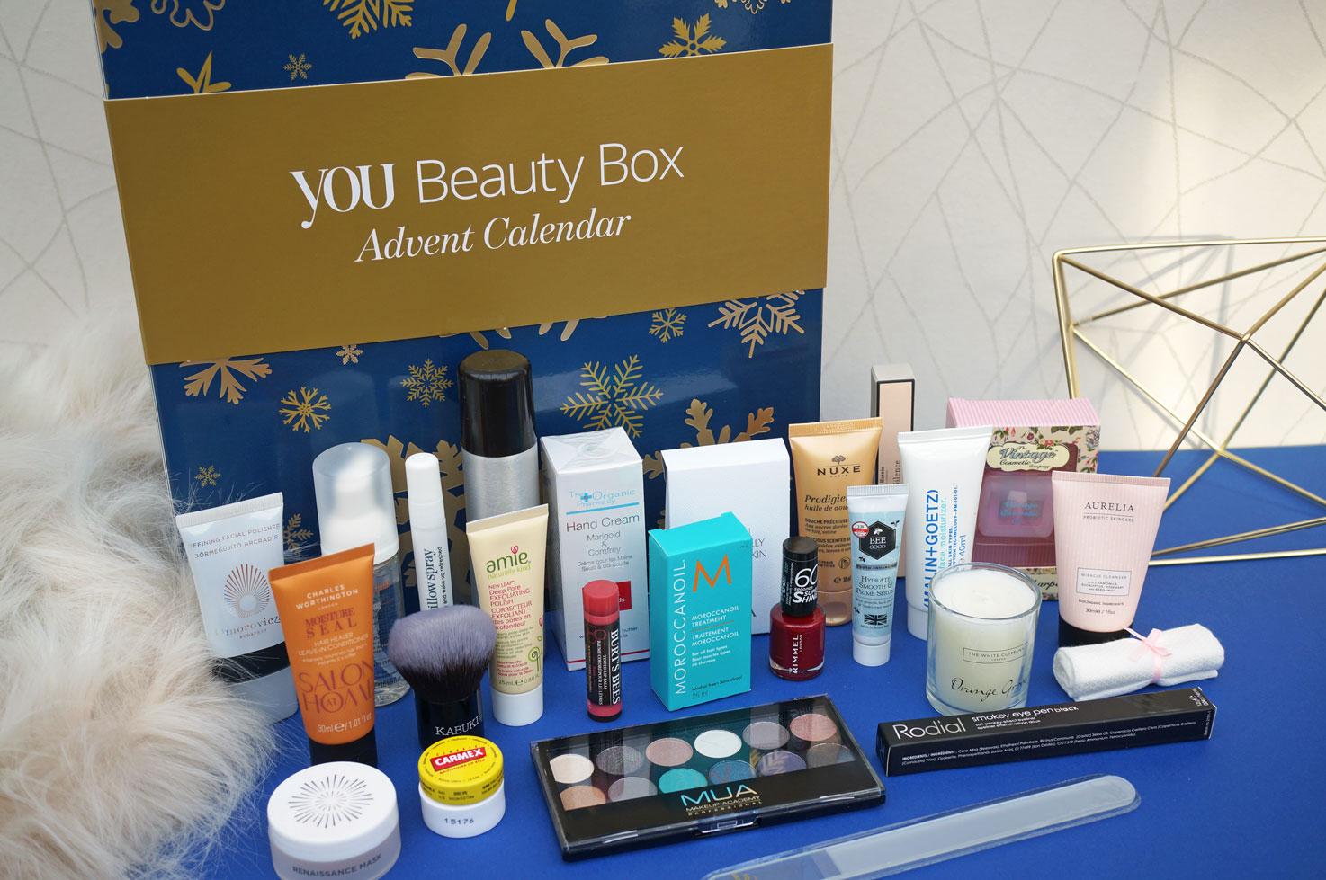 Christmas You Beauty Box Advent Calendar 2016 Ybbadvent