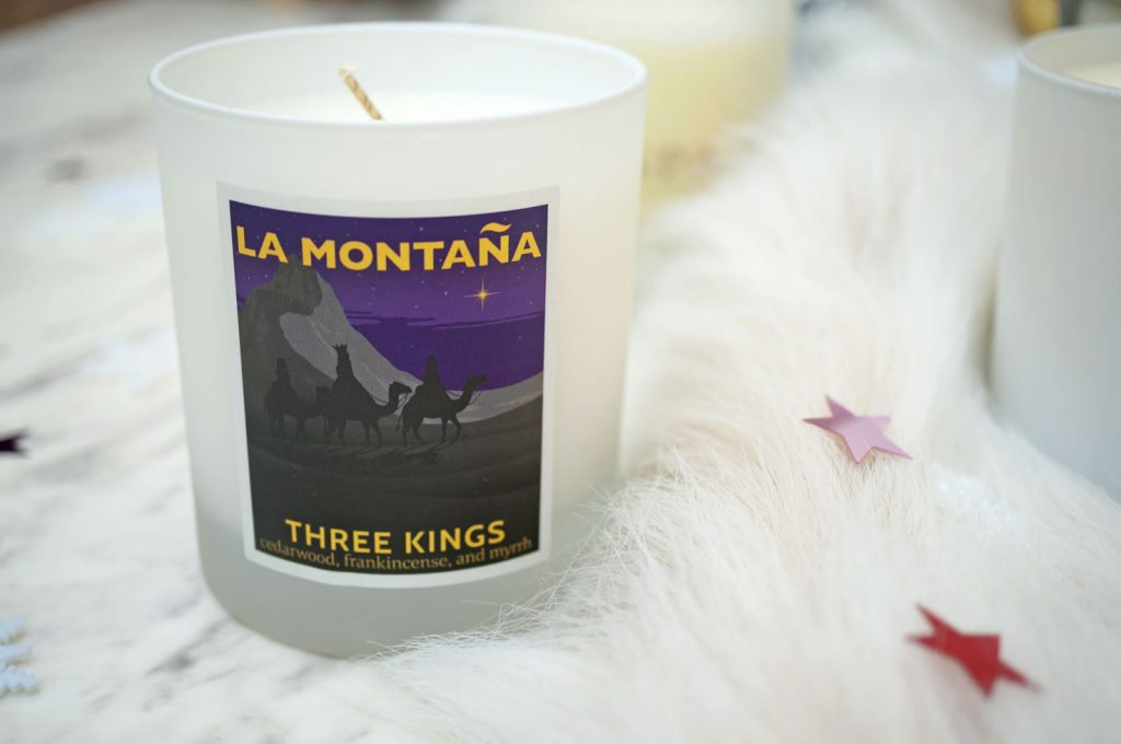 la-montana-three-kings-candle-review