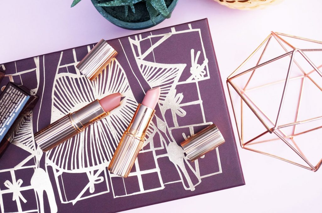 Beauty: Charlotte Tilbury NEW Lipsticks in Valentine & Pillow Talk
