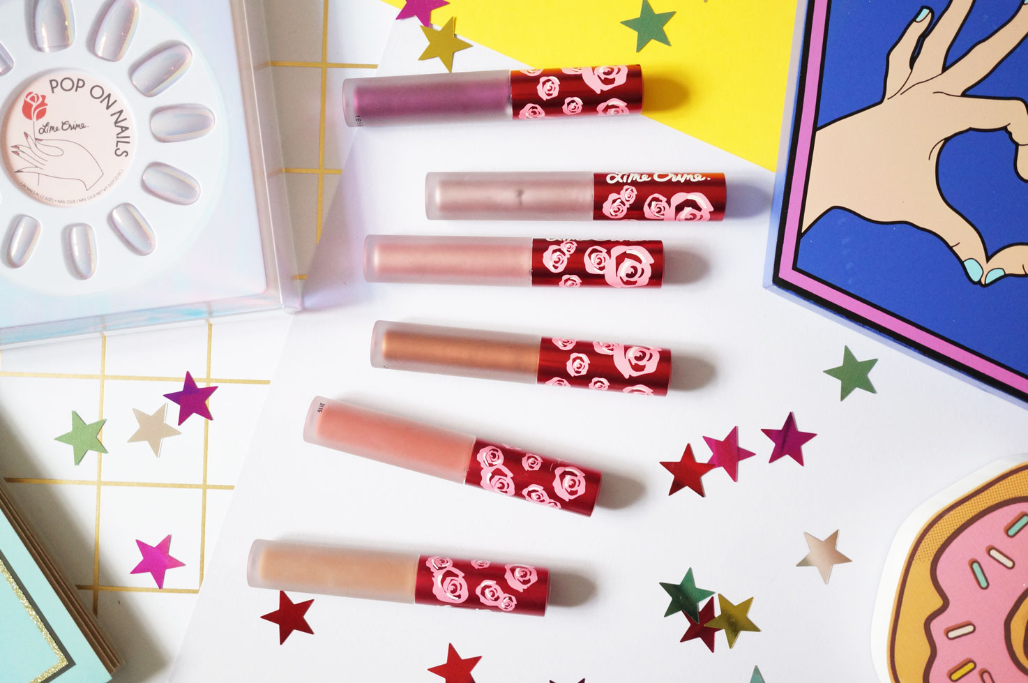 Beauty My Picks From Lime Crime At Asos Thou Shalt Not Covet Velvetines All Shade Another Of Crimes Newer Launches Is Their Metallic Liquid Lipsticks 1500 There Are Six Shades To Choose