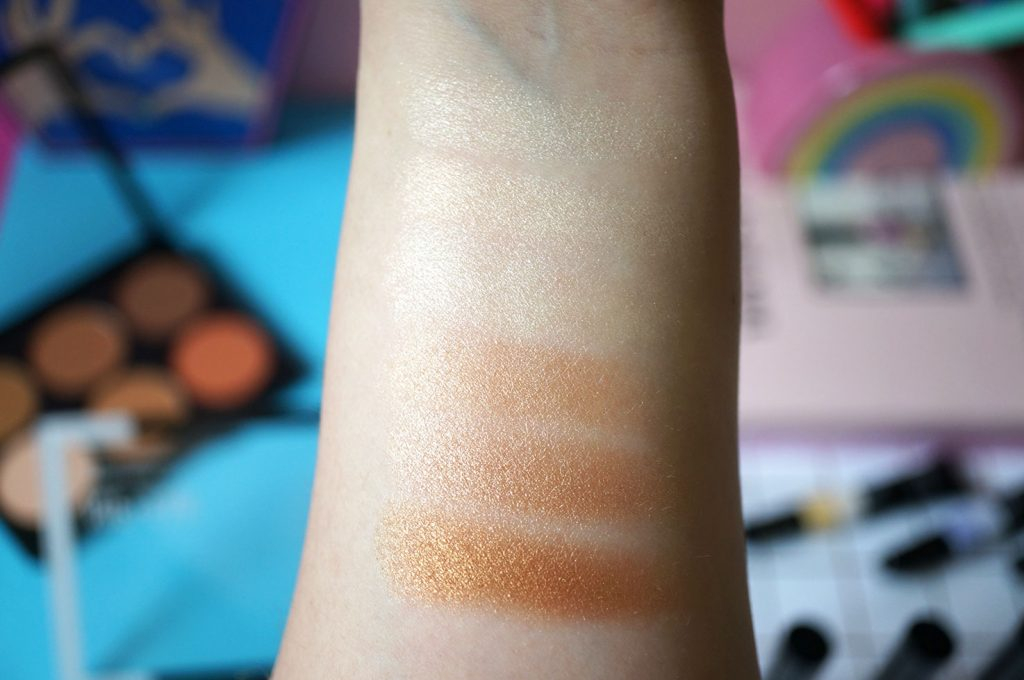 nip-and-fab-highlighter-palette-swatches