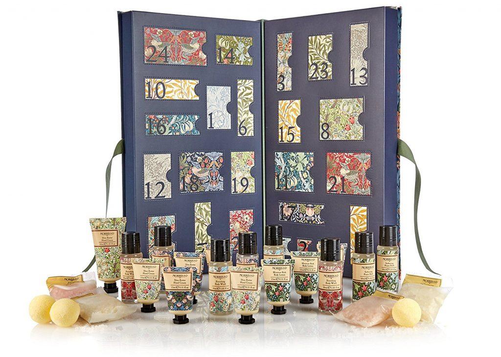 Heathcote & Ivory Morris & Co beauty advent calendar 2017 tsncblog