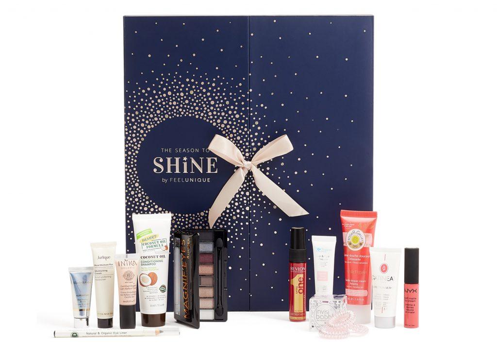 feel unique beauty advent calendar 2017 tsncblog
