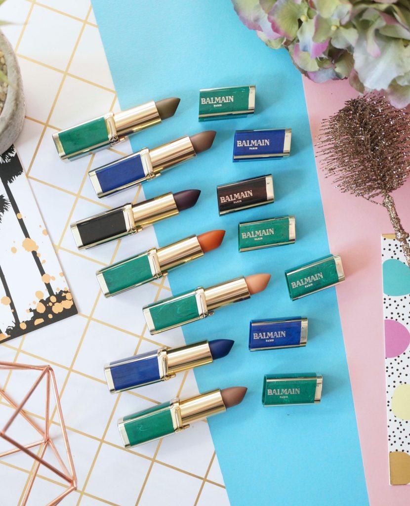 balmainxloreal-lipstick-collection-review