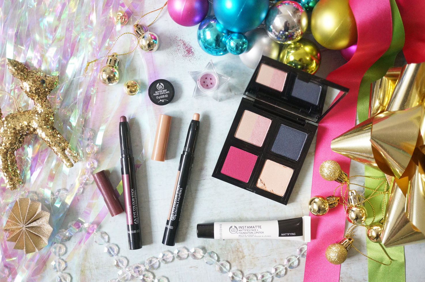 Festive Beauty With The Body Shop